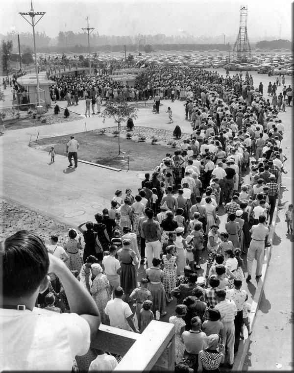 Disneyland's Grand Opening