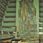 The Grand Canyon Concourse: The Contemporary Resort's Grand Canyon Concourse is highlighted by a colorful 90-foot high mural.
