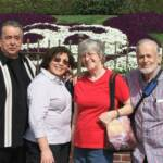 Dave MacPherson (far right) with Joe & Martha Ortiz and Dave's wife Wanda at Disneyland (March 4, 2011).
